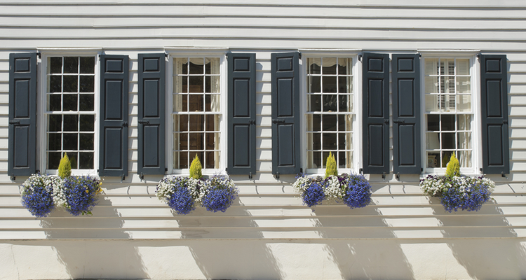 Exterior Window Shutters: Perfectly, Practical or Just Plain Pretty ...